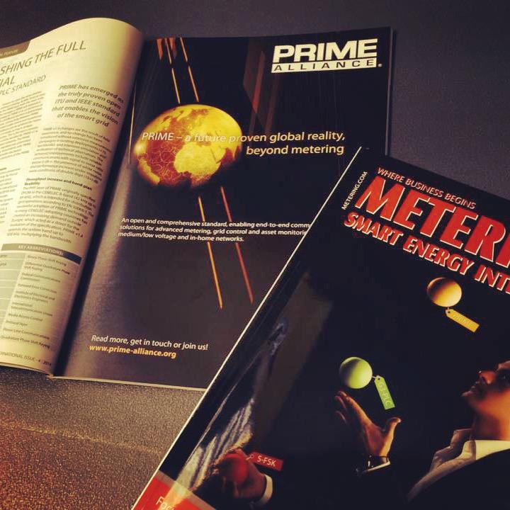 PRIME Alliance - Advertisement + Article Metering International